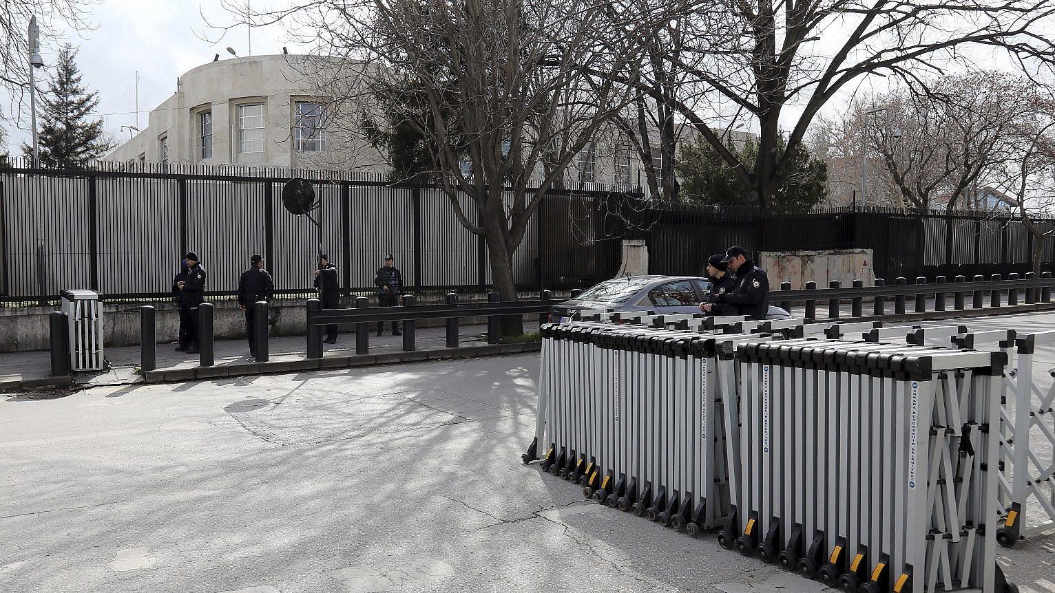 Turkey said to detain 4 Iraqis plotting US embassy attack | The ...