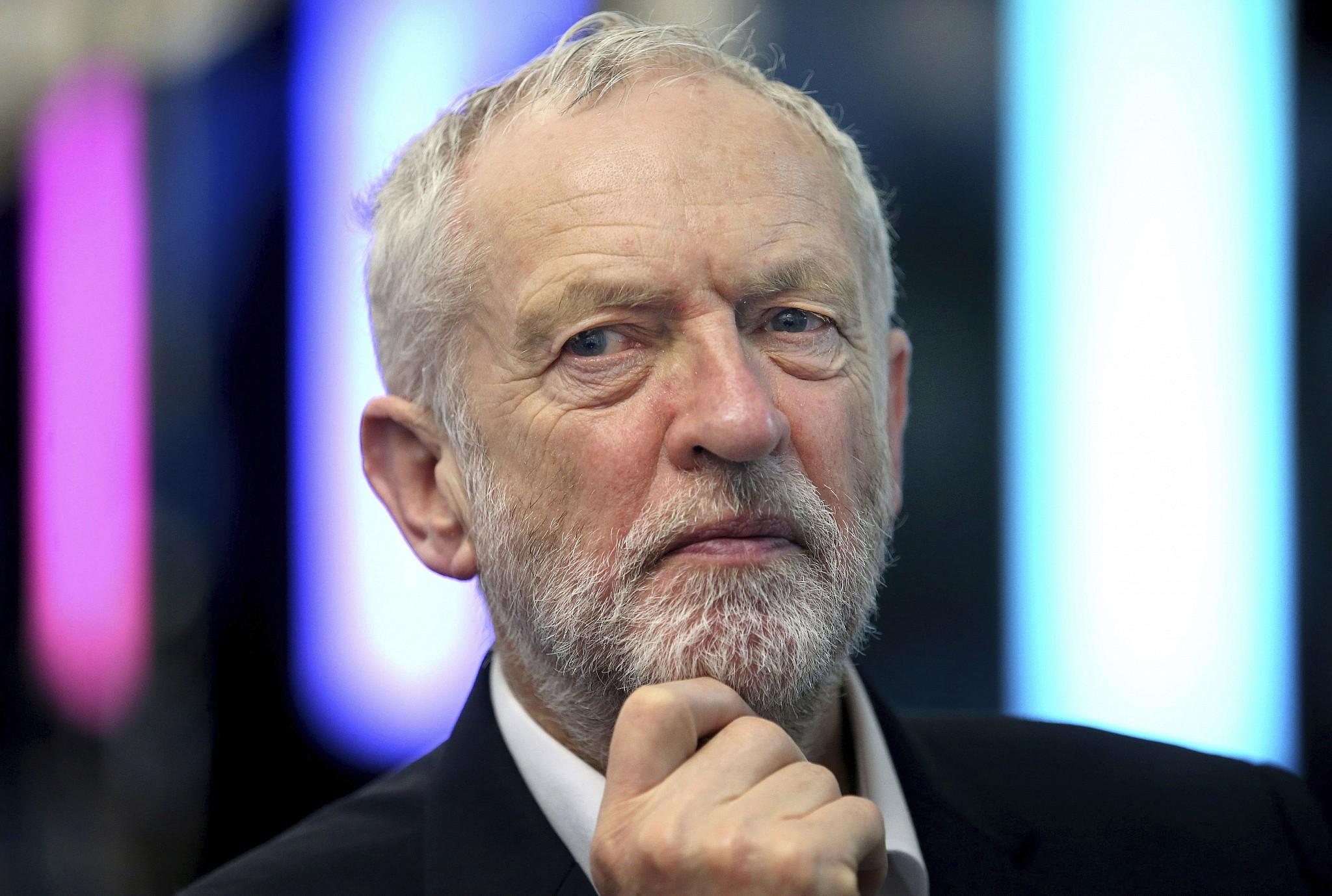 Znalezione obrazy dla zapytania jeremy corbyn