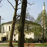 Brussels' Grand Mosque (CC-BY-SA Wikimedia commons)