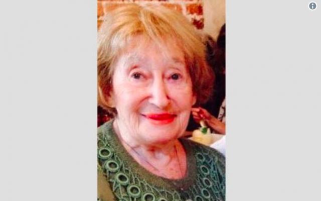 Mireille Knoll, 85, a Holocaust survivor who was found murdered in her Paris apartment (Courtesy)
