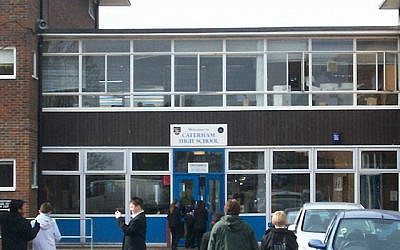 Illustrative image of Caterham High School in Britain. CC BY-SA Caterham High Students, Wikimedia Commons)