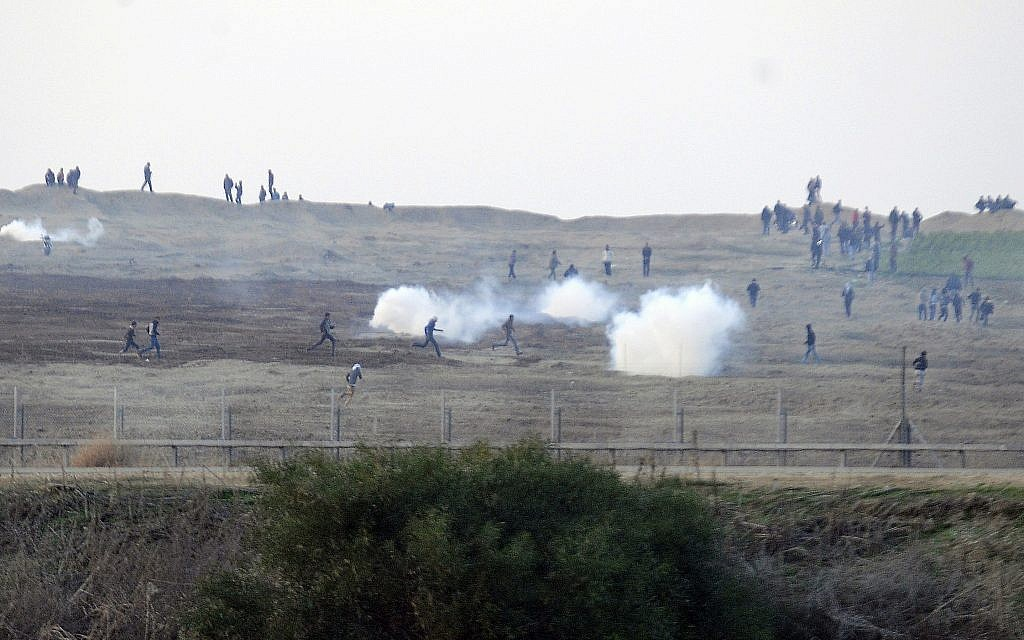 Israel to deploy tear gas-dropping drones on planned Gaza border protests