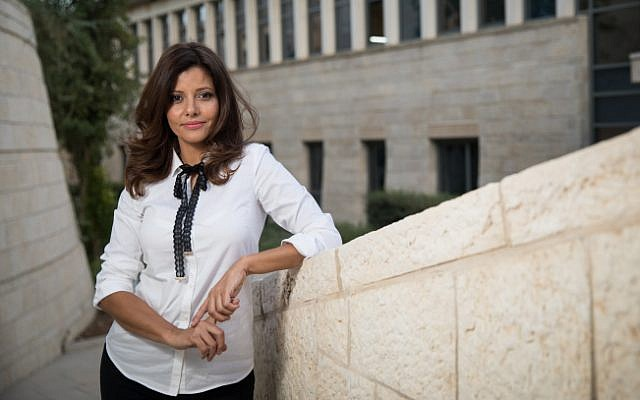 MK Orly Levy-Abekasis at the Knesset on October 3, 2017 (Hadas Parush/Flash90)