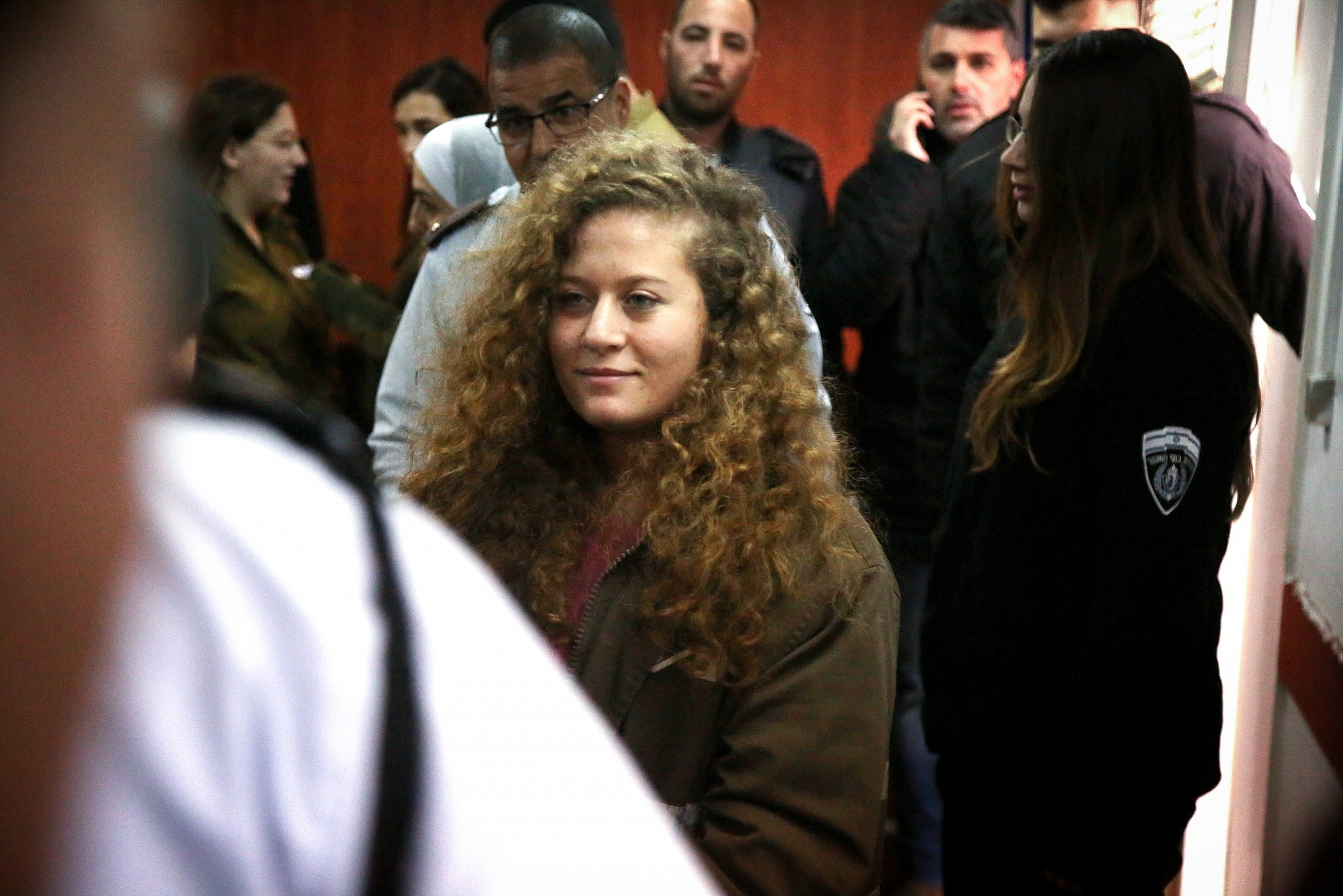 Palestinian Ahed Tamimi agrees 8 months in Israeli jail after plea deal