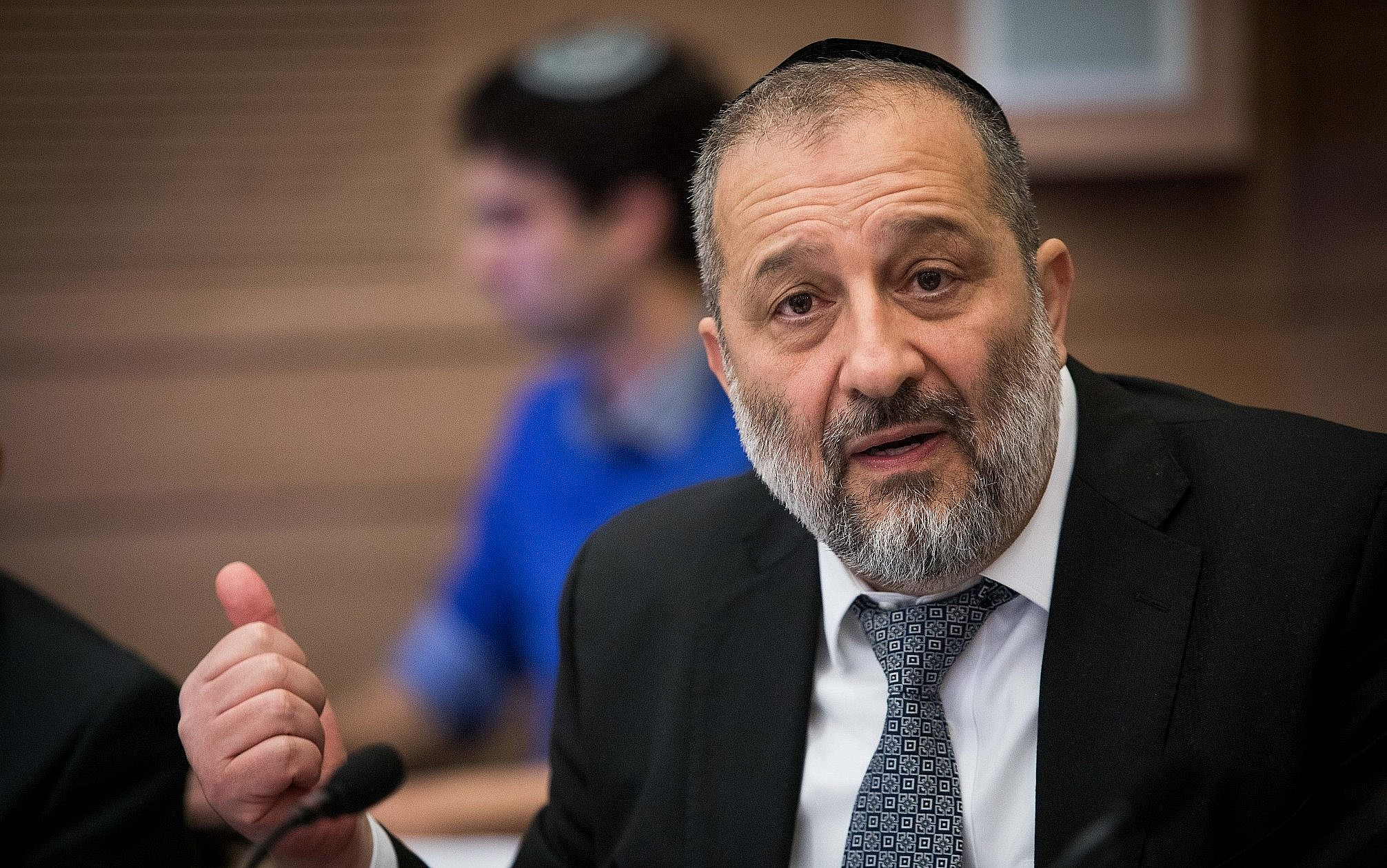 Aryeh Deri: Israelis \'won\'t forgive\' early elections | The Times of ...