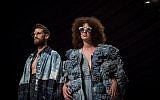 Designs for Tel Aviv Fashion Week by Shenkar students, revealed during a runway rehearsal (Miriam Alster/Flash 90)