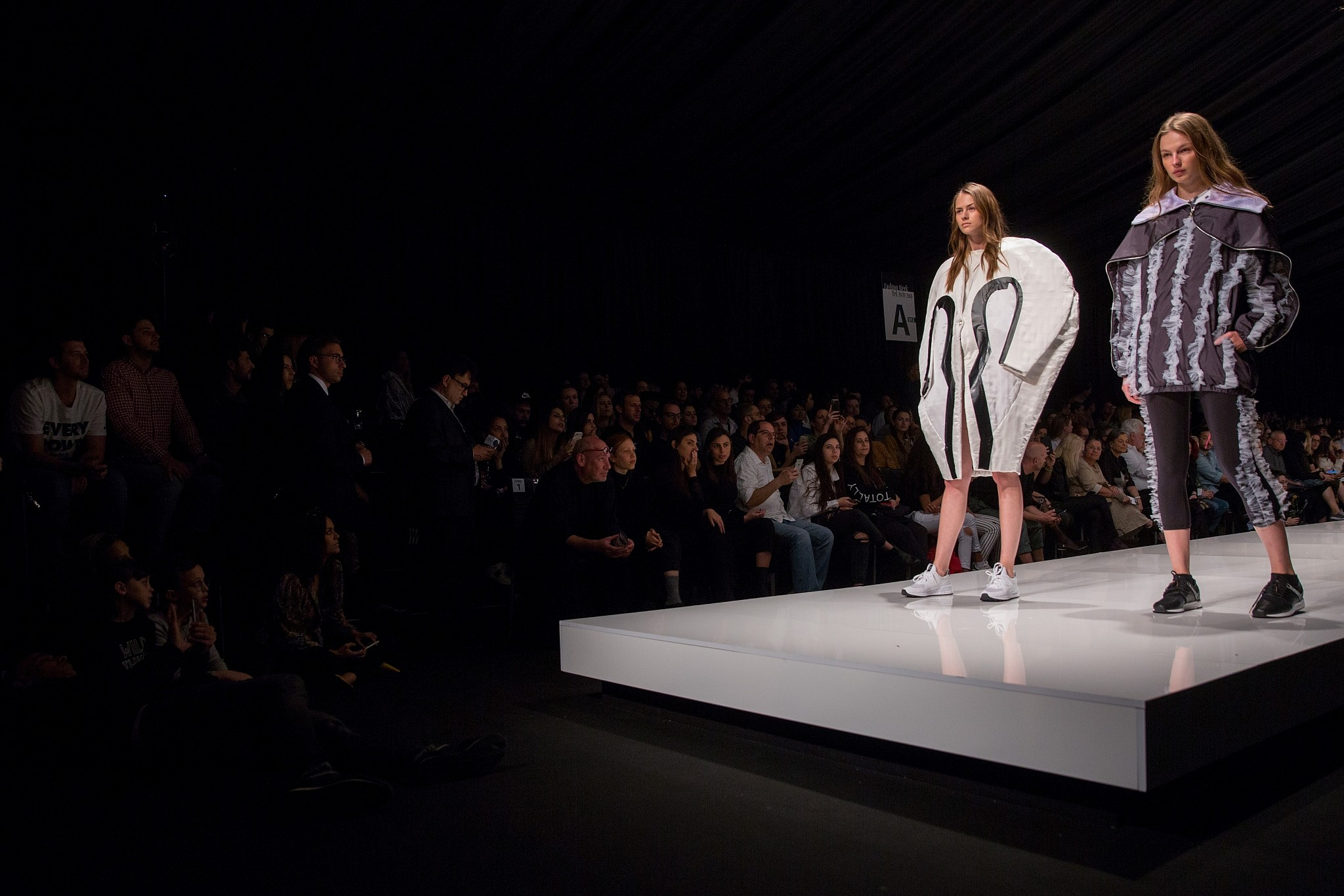 Tel Aviv Fashion Week Kicks Off With Leather And Hardware
