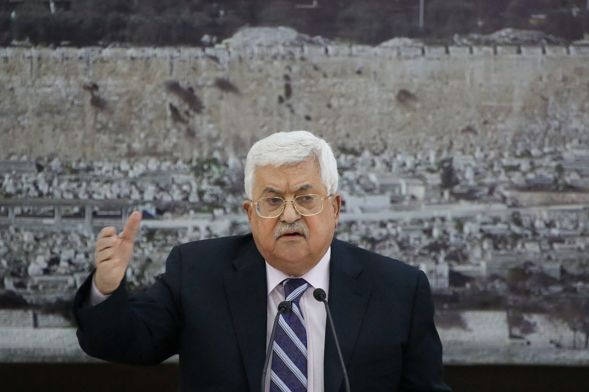 White House takes aim at Abbas after 'son of a dog' insult