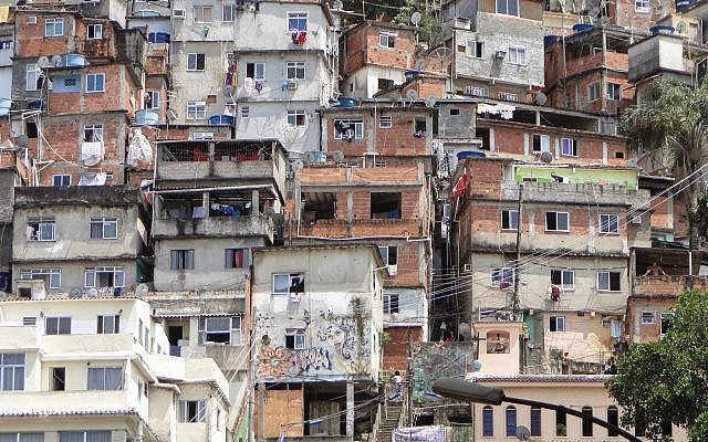 A favela slum in Rio de Janeiro, Brazil. (Wikipedia/Leon Petrosyan/CC BY-SA)