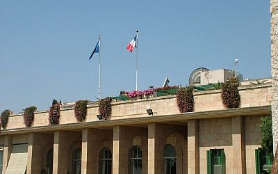 French consulate in Jerusalem. (CC BY-SA Neta, Wikimedia Commons)
