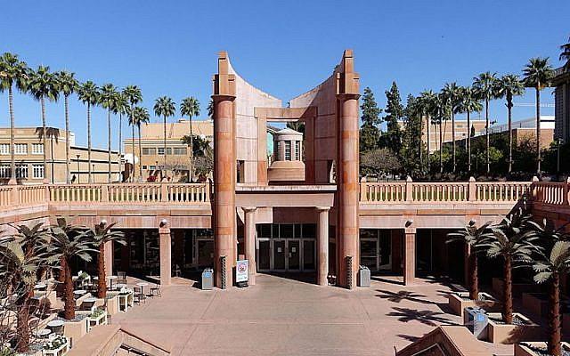 The Hayden Library at Arizona State University. (Wikimedia Commons via JTA)