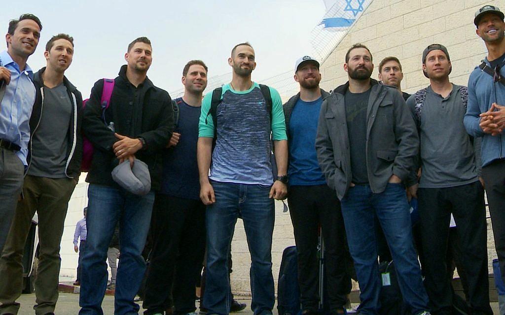 Team Israel members arrive in Israel, January 2017 (Ironbound Films)