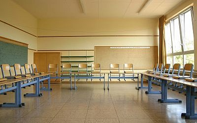 Illustrative: A classroom in a primary school in Germany. (Wikipedia/Martin Kraft/CC BY)