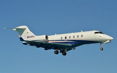 Illustrative: A Bombardier-built business jet. (Wikipedia/Spotting973/CC BY-SA)