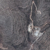 A site in western Syria suspected of housing a potential nuclear facility, captured on June 19, 2014. (Google Earth)