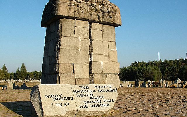 How 'Never Again' evolved from Holocaust commemoration