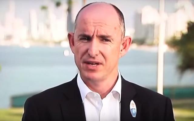 Australian lawmaker Stuart Robert in 2016. (Screen capture: YouTube)