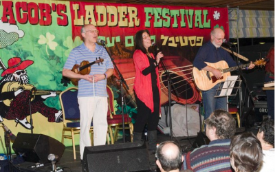 Anglo folk band Unstrung Heroes, a band of doctors, will perform at this year's Jacob's Ladder Festival (Courtesy Unstrung Heroes)