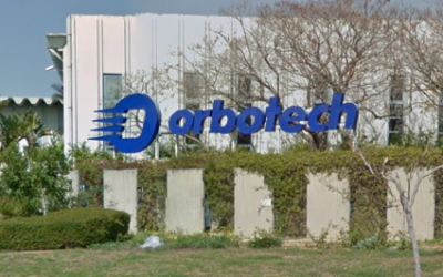 Orbotech's offices in Yavneh. (Google Street View)