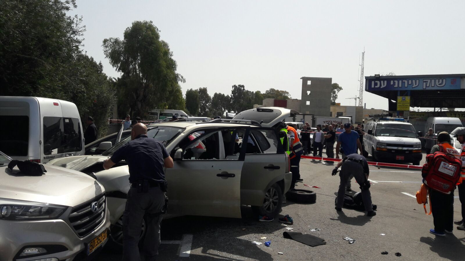 3 injured in car-ramming attack in northern Israel