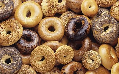Illustrative: Bagels (Wikimedia Commons viaJTA)