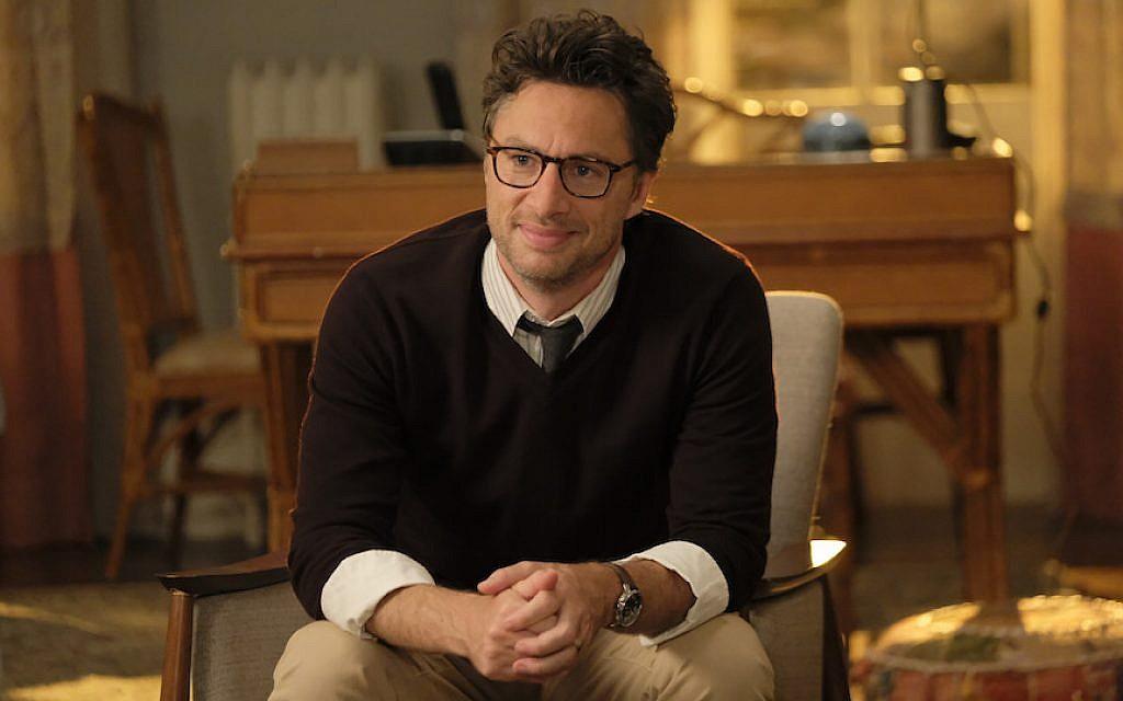 Zach Braff stars in the new ABC sitcom 'Alex, Inc.' (ABC/Tony Rivetti/via JTA)