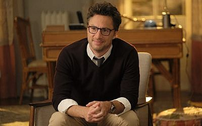 Zach Braff stars in the new ABC sitcom 'Alex, Inc.' (ABC/Tony Rivetti/via JTA)