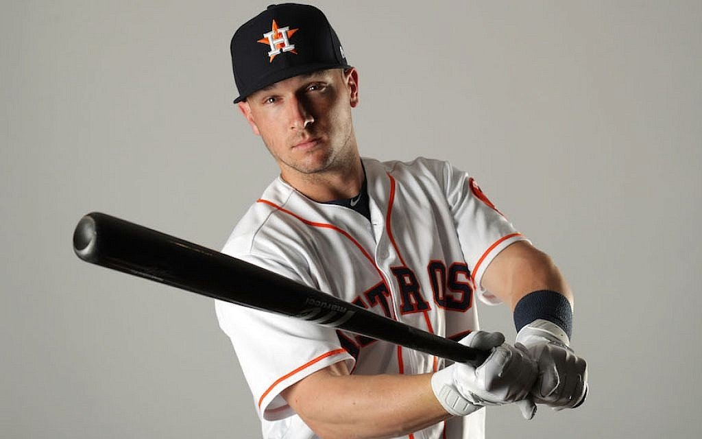 Alex Bregman's manager expects the young slugger to get even better. (Streeter Lecka/Getty Images/via JTA)