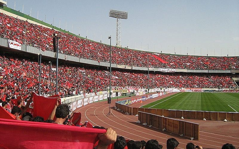 Women held in Iran during Federation Internationale de Football Association visit