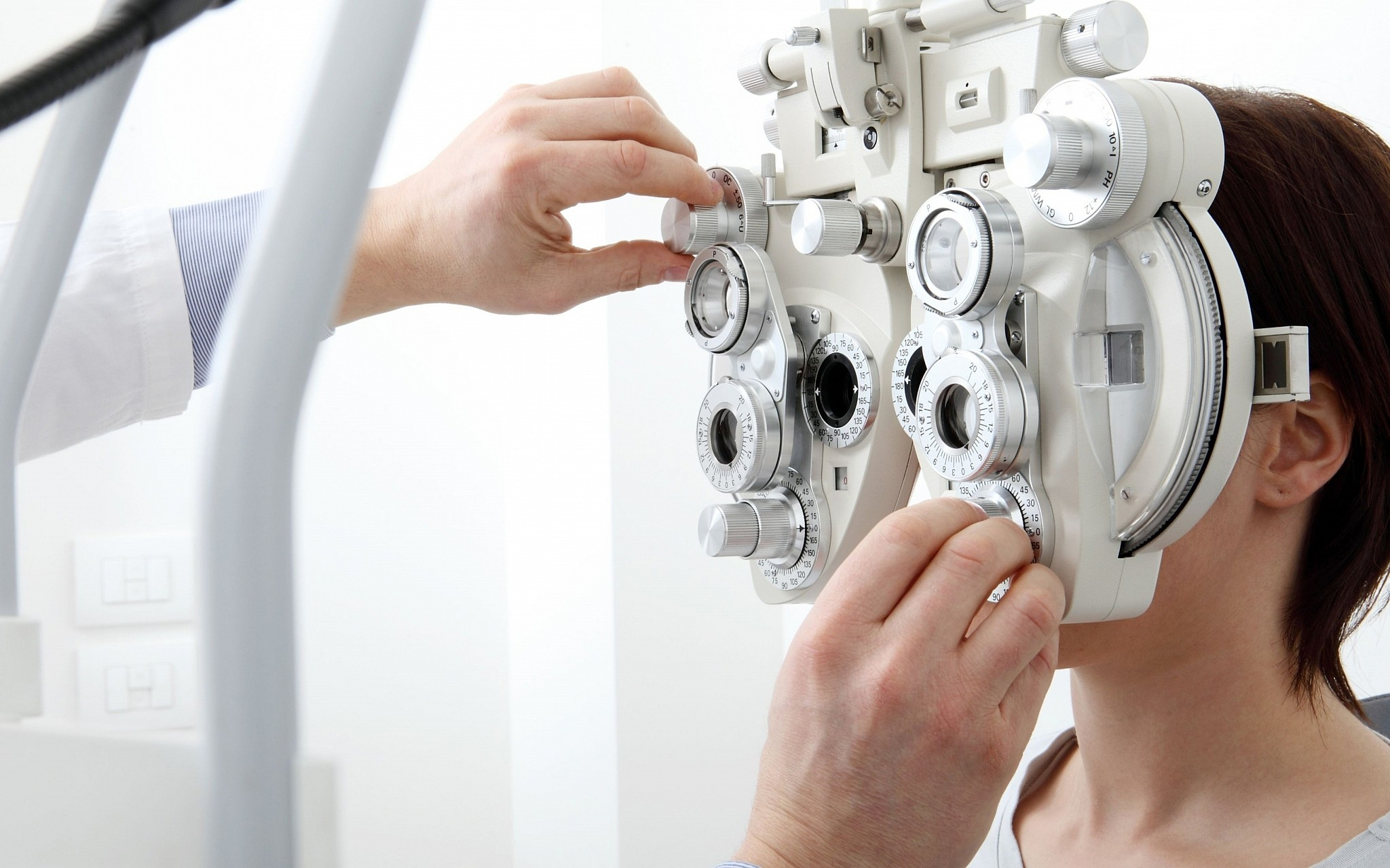 illustrative image of an eye test visivasnc istock by getty images