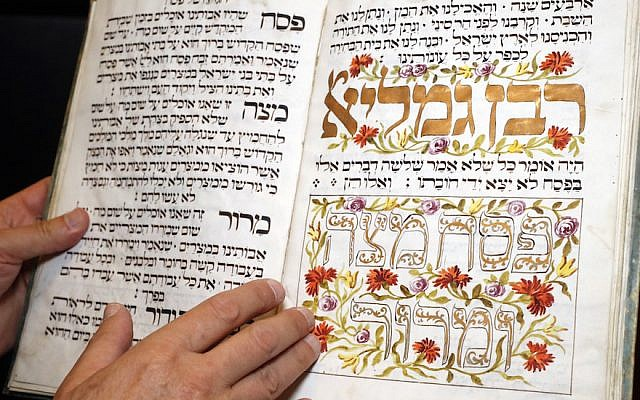 Old illuminated Haggadah (Presburg 1773). A Jewish text that sets forth the order of the Passover Seder. Switzerland. (Godong/UIG via Getty Images/via JTA)