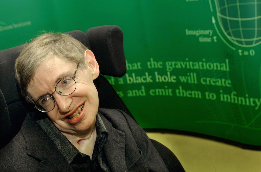 The unfettered mind of Stephen Hawking