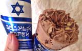 "A company in Russia's Tartarstan region sells an ice cream cone named ""Poor Jews."" (Slavitsa via JTA)"