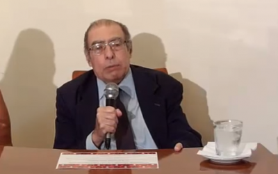 Argentine Judge Leopoldo Schiffrin speaks on November 15, 2016. (Screen capture/YouTube)