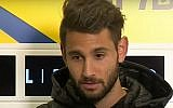 Beitar striker Antony Varenne. (YouTube screenshot)