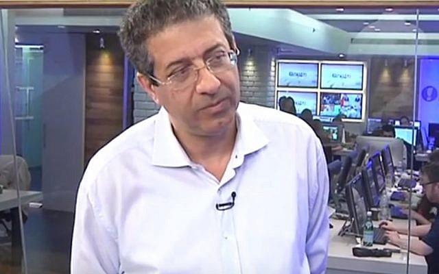 Walla CEO Ilan Yeshua. (YouTube screenshot)