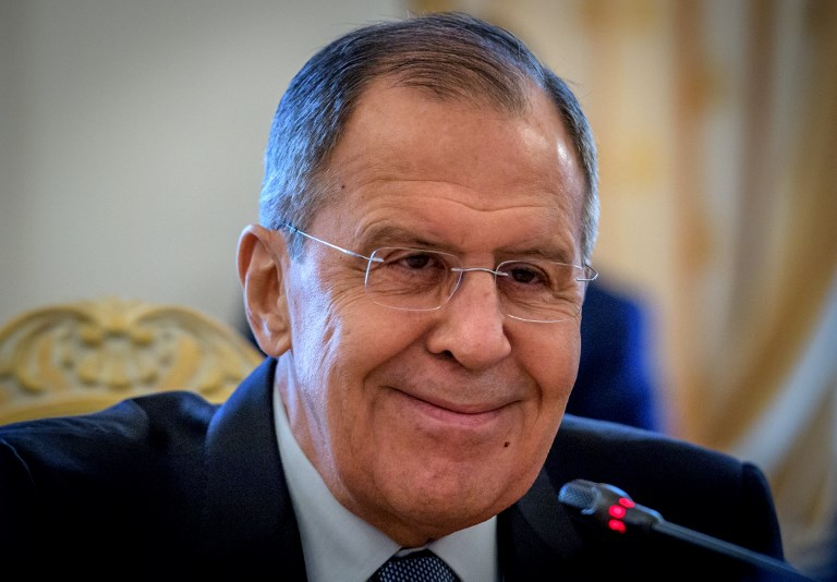 Lavrov says spy poisoning could be 'in interests' of United Kingdom government