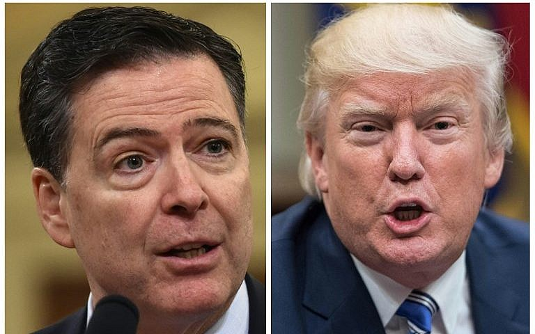 President Trump again calls James Comey a 'slimeball' ahead of new book