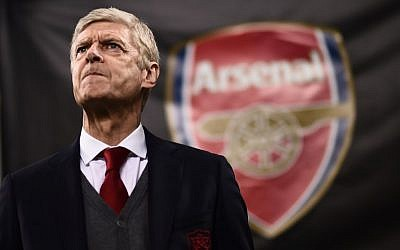 Arsenal manager Arsene Wenger, pictured during the UEFA Europa League round of 16 first-leg match AC Milan Vs Arsenal at the 'San Siro Stadium' in Milan on March 8, 2018. (AFP/Marco Bertorello)