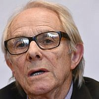 British film director Ken Loach takes part in a press conference in marge of a ceremony for the 'Doctor Honoris Causa' honorary degrees of the ULB (Universite Libre de Bruxelles) university, on April 26, 2018 in Brussels. (AFP PHOTO / BELGA / ERIC LALMAND)