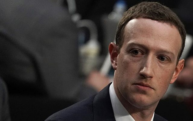 Facebook co-founder, Chairman and CEO Mark Zuckerberg testifies before a combined Senate Judiciary and Commerce committee hearing in the Hart Senate Office Building on Capitol Hill April 10, 2018 in Washington, DC. (Alex Wong/Getty Images/AFP)