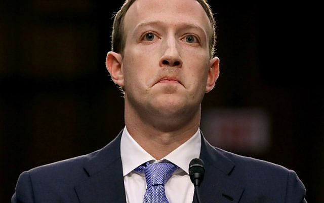 Facebook co-founder, Chairman and CEO Mark Zuckerberg testifies before a combined Senate Judiciary and Commerce committee hearing in the Hart Senate Office Building on Capitol Hill April 10, 2018 in Washington, DC (Chip Somodevilla/Getty Images/AFP
