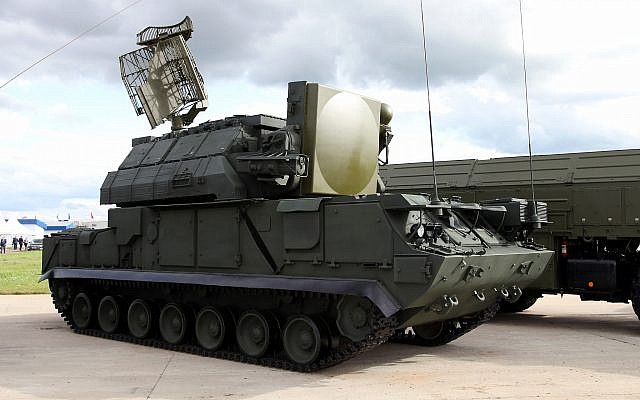 A Russian-made Tor missile defense system. (Vitaly V. Kuzmin/WikiMedia/CC BY-SA 4.0)