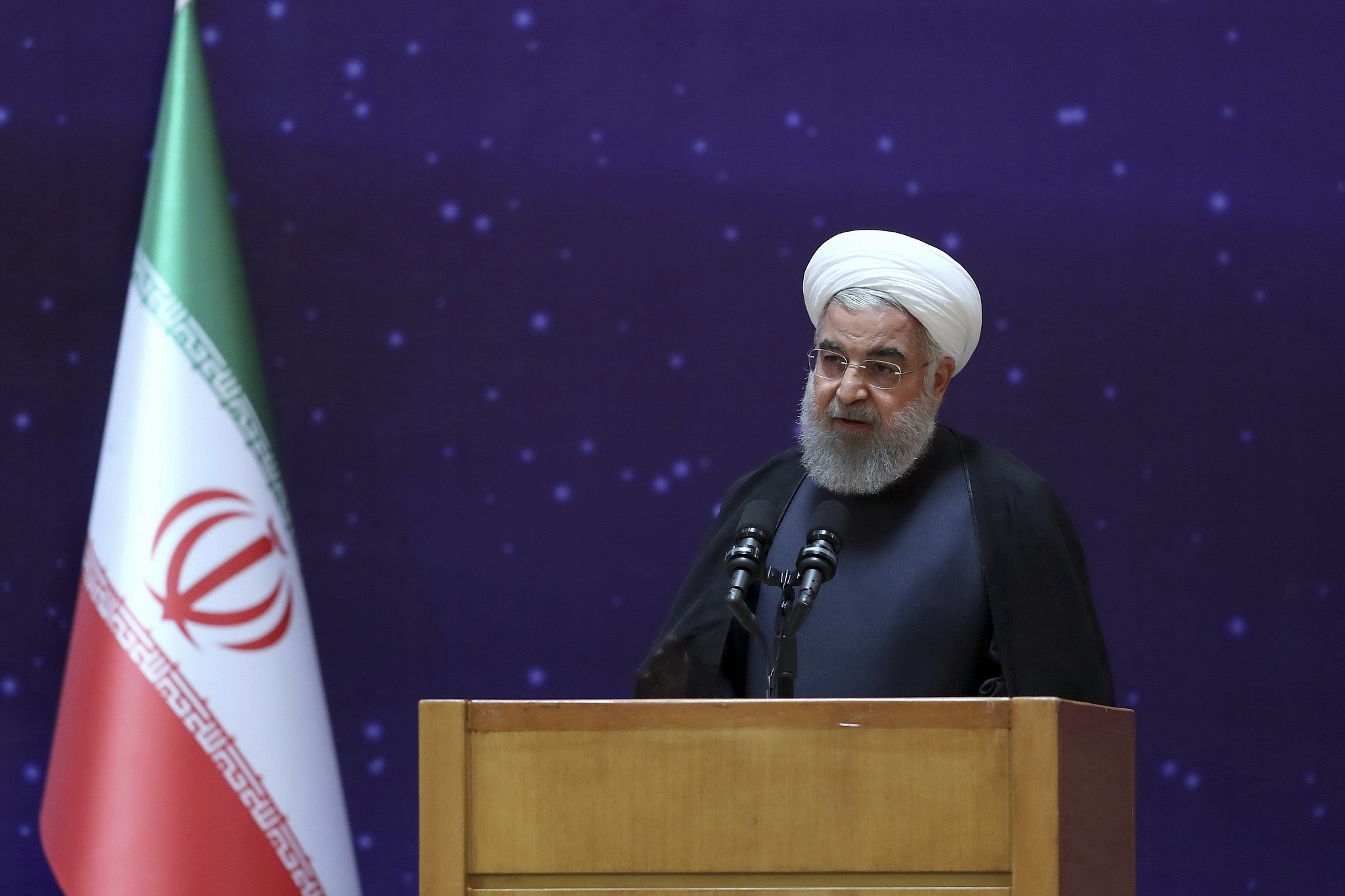 Irans Rouhani Warns Us It Will Regret Pulling Out Of Nuclear Deal