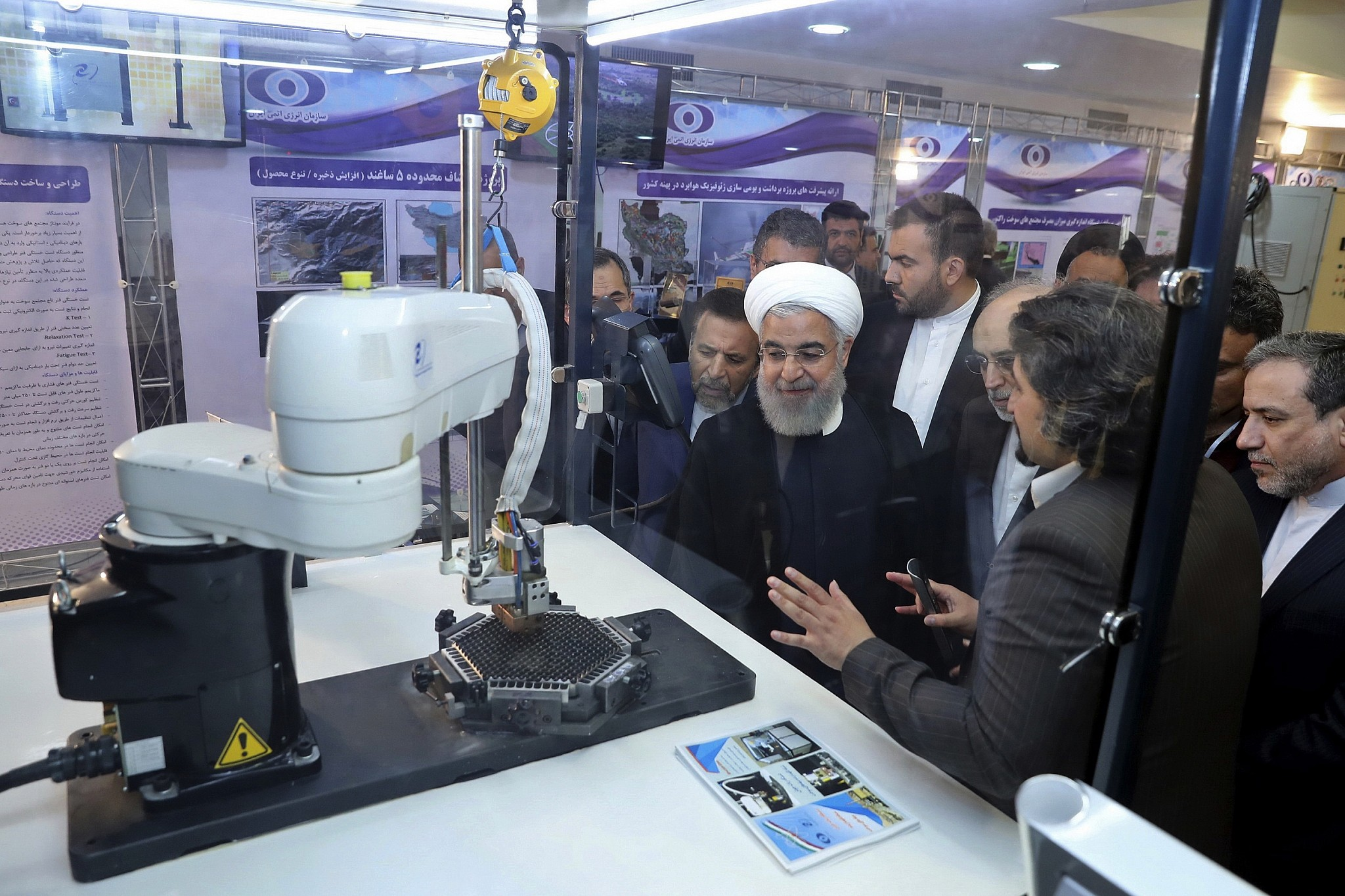 Iran president: If US scraps nuke deal, they'll see impact