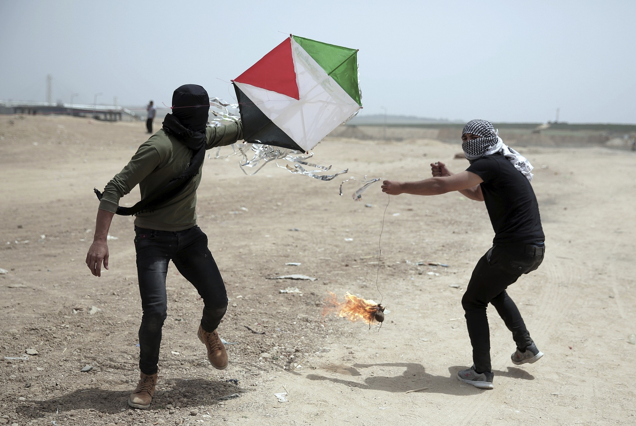 Image result for The Defiance that Launched Gaza's Flaming Kites Cannot be Extinguished