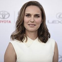 Natalie Portman attends the 27th Annual EMA Awards at Barker Hangar on Saturday, Sept. 23, 2017, in Santa Monica, Calif. (Photo by Richard Shotwell/Invision/AP)