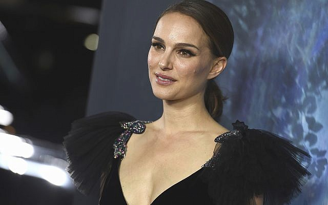 "Natalie Portman arrives at the Los Angeles premiere of ""Annihilation"" at the Regency Village Theatre, on February 13, 2018. (Jordan Strauss/Invision/AP)"
