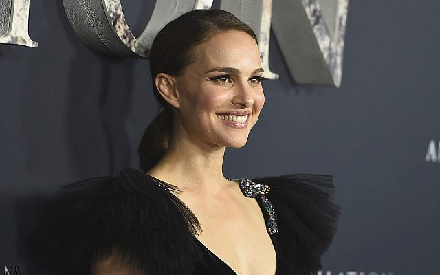Natalie Portman arrives at the Los Angeles premiere of 'Annihilation' at the Regency Village Theatre on Tuesday, February 13, 2018 (Photo by Jordan Strauss/Invision/AP)