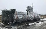 The Wednesday, March 7, 2018 photo shows the submarine UC3 Nautilus of Danish inventor Peter Madsen in Copenhagen, Denmark (AP Photo/Dorothee Thiesing)